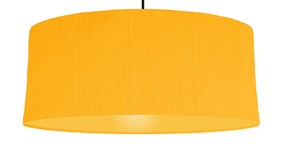 Sunshine & Butter Yellow Lampshade - 70cm Wide