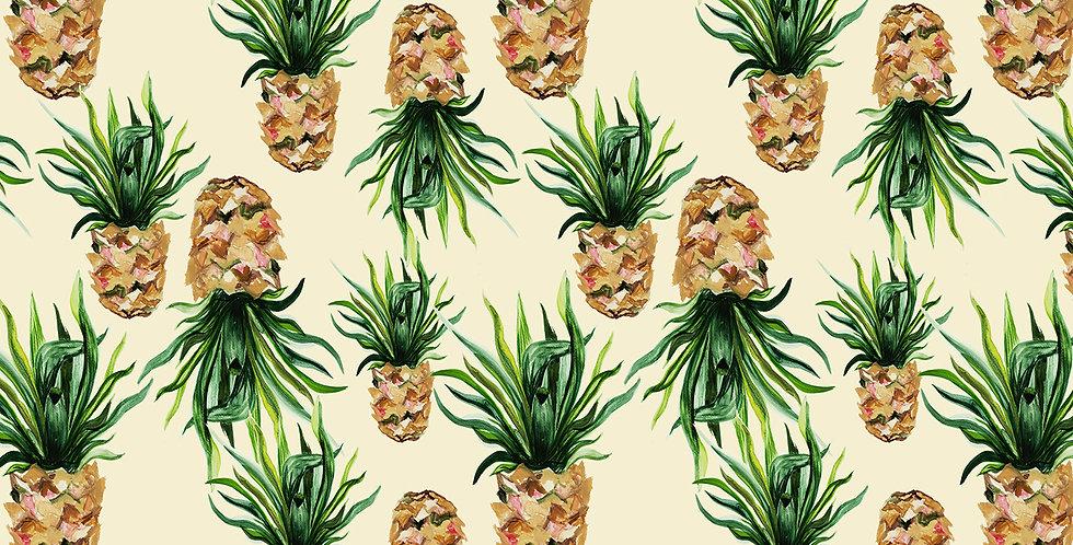 Pineapple Fabric - Natural