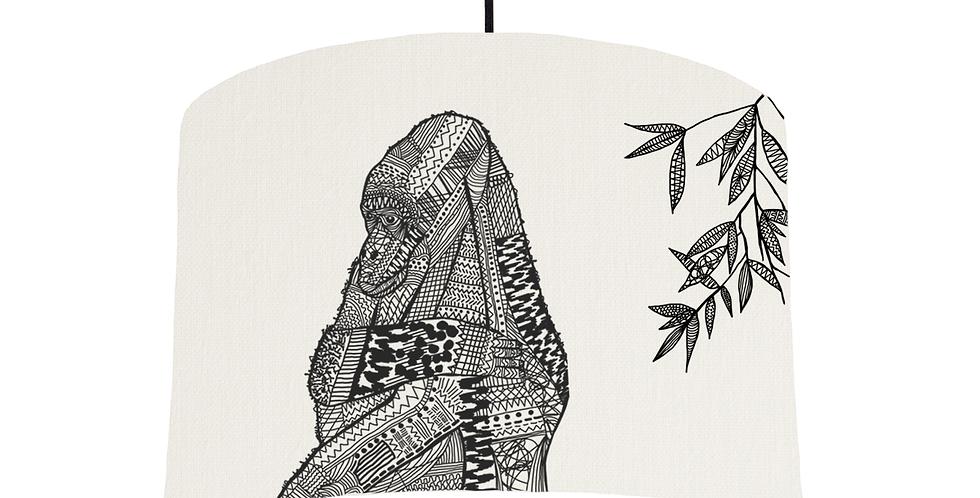Gorilla - White Fabric