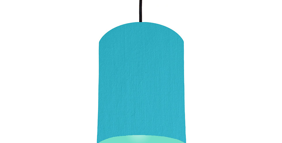 Turquoise & Mint Lampshade - 15cm Wide
