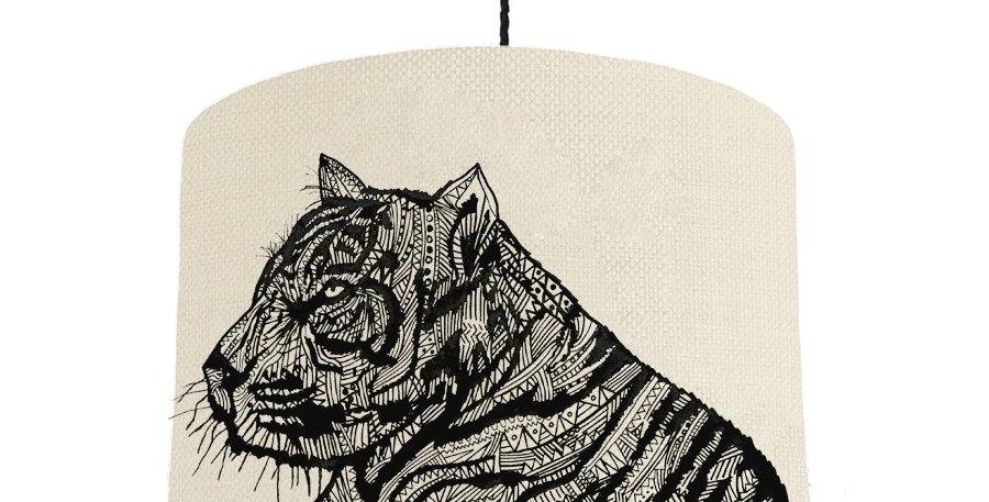 Tiger - Natural & Purple Lining