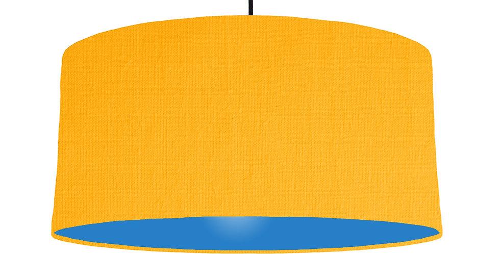 Sunshine & Bright Blue Lampshade - 60cm Wide