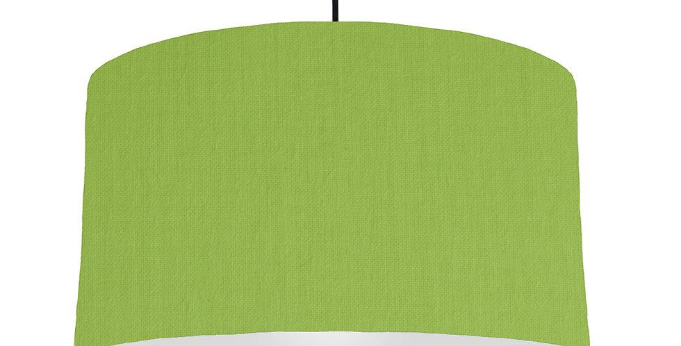 Pistachio & Light Grey Lampshade - 50cm Wide