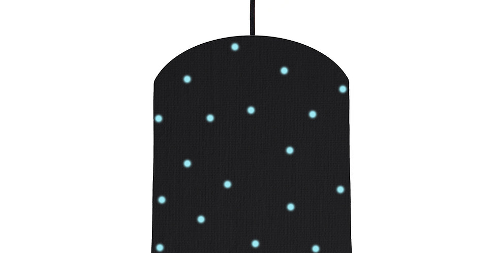 Pom Pom Lampshade With Colour Lining - 20cm Wide