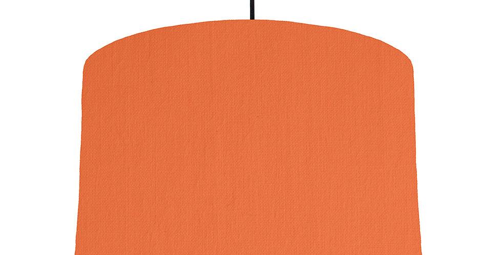 Orange & Bright Blue Lampshade - 40cm Wide