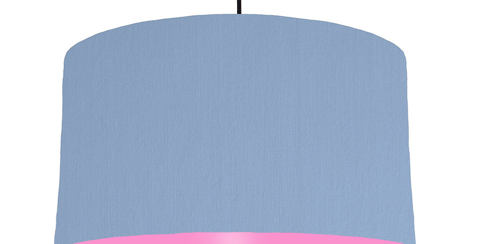 Sky Blue & Pink Lampshade - 50cm Wide