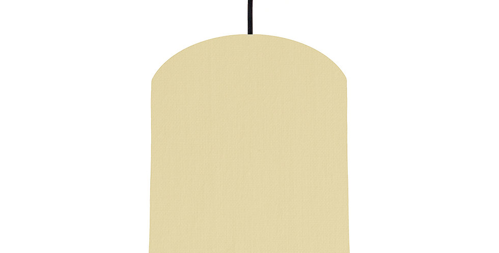 Natural & Pink Lampshade - 20cm Wide
