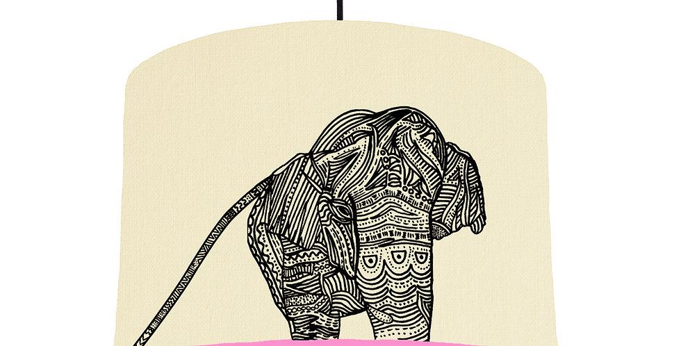 Elephant - Natural & Pink