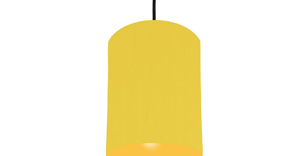 Lemon & Butter Yellow Lampshade - 15cm Wide