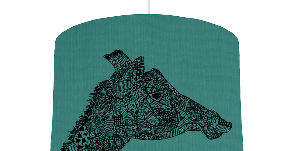 Giraffe Shade - Jade Fabric
