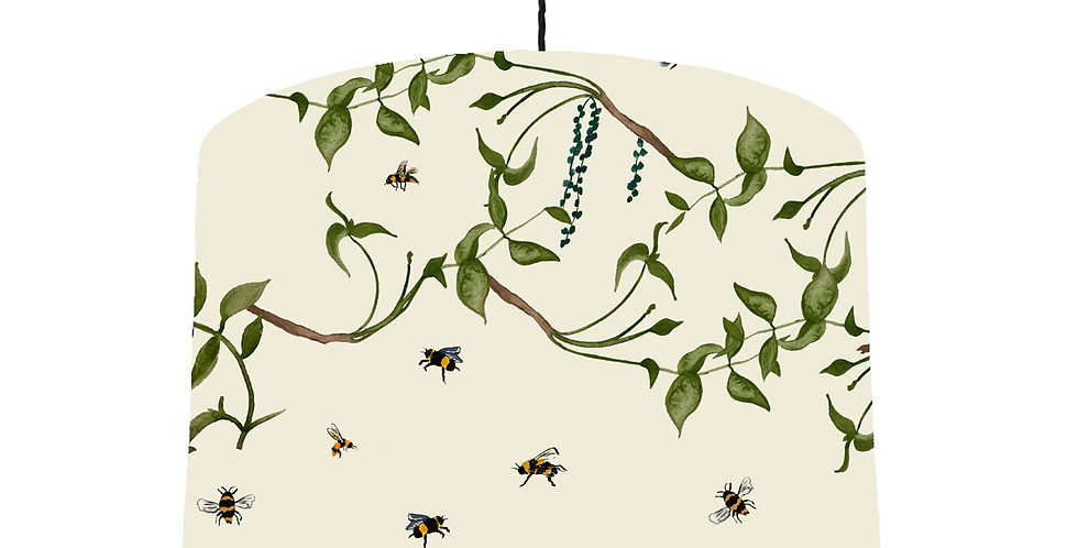 Busy Bee Lampshade - Metallic Lining