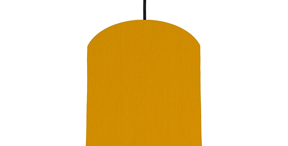 Mustard & Turquoise Lampshade - 20cm Wide
