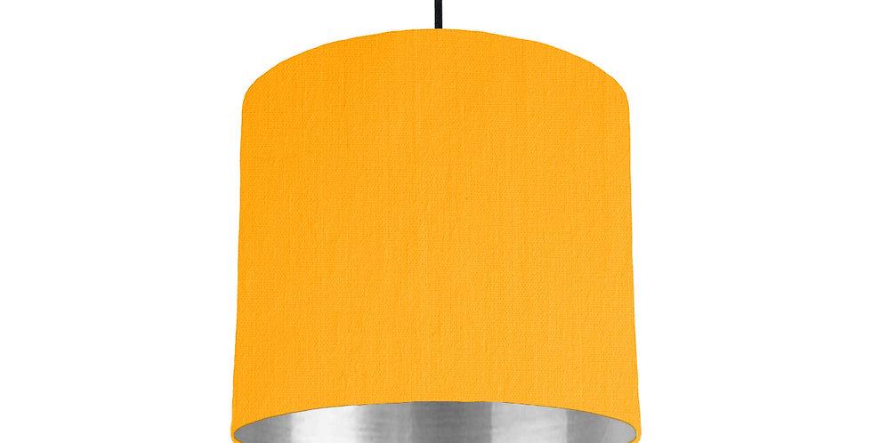 Sunshine & Silver Mirrored Lampshade - 25cm Wide