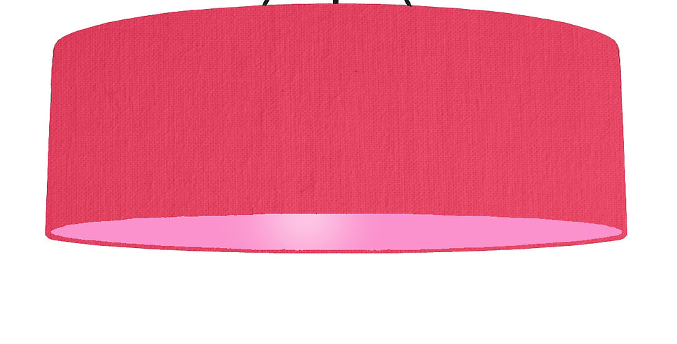 Cerise & Pink Lampshade - 100cm Wide