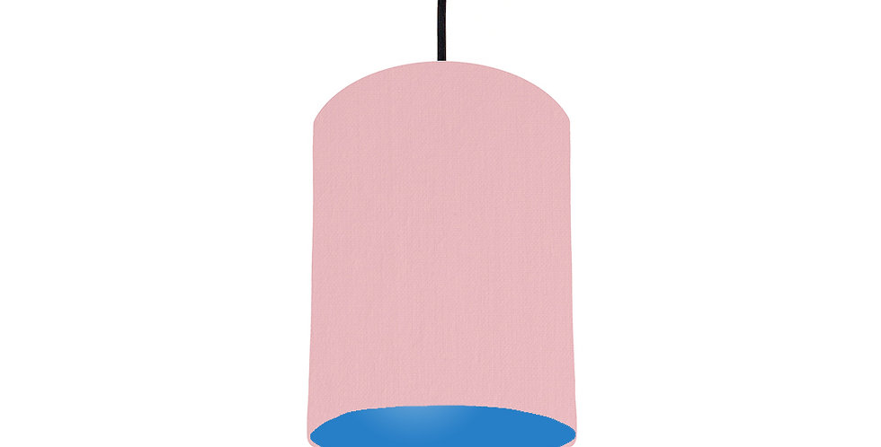 Pink & Bright Blue Lampshade - 15cm Wide