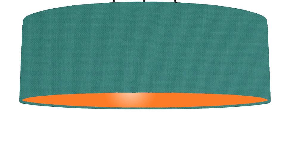 Jade & Orange Lampshade - 100cm Wide