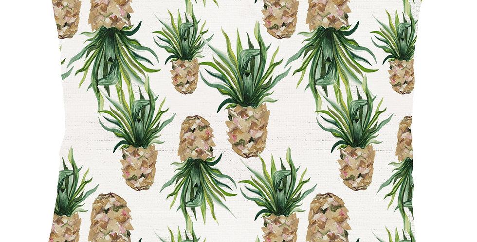 Pineapple Velvet Cushion