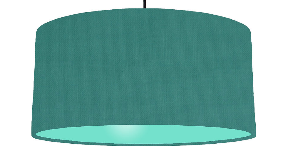Jade & Mint Lampshade - 60cm Wide