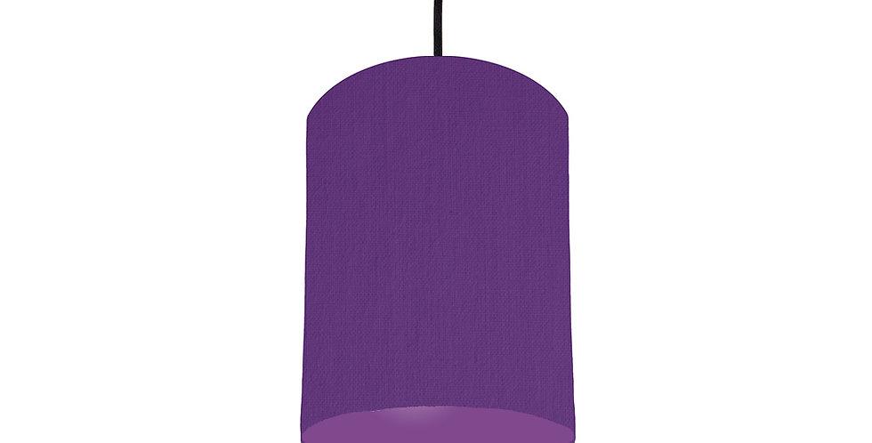 Violet & Purple Lampshade - 15cm Wide