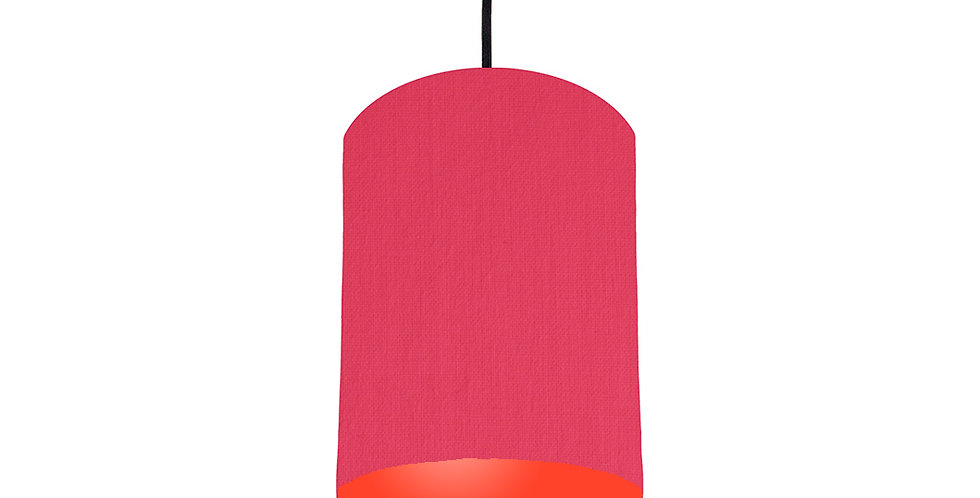 Cerise & Poppy Red Lampshade - 15cm Wide