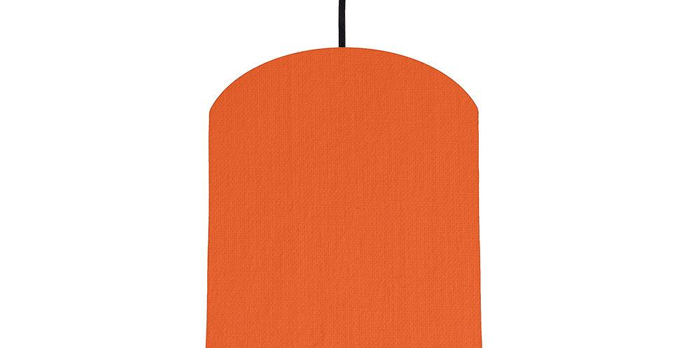Orange & Orange Lampshade - 20cm Wide