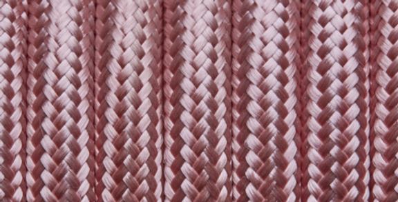 Pink - Industville Round Fabric Cable