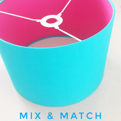 Mix and match lampshade
