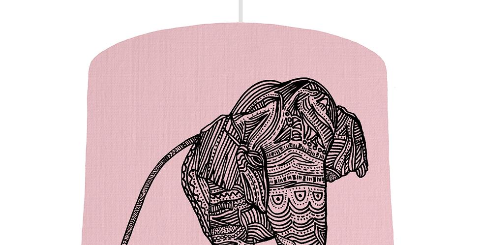 Elephant Shade - Pink Fabric