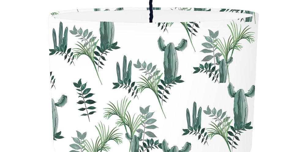 Cactus Lampshade - White Lining