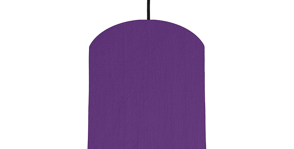 Violet & Forest Green Lampshade - 20cm Wide
