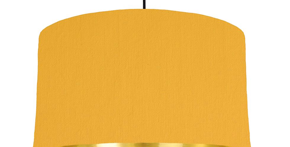 Sunshine & Gold Mirrored Lampshade - 50cm Wide