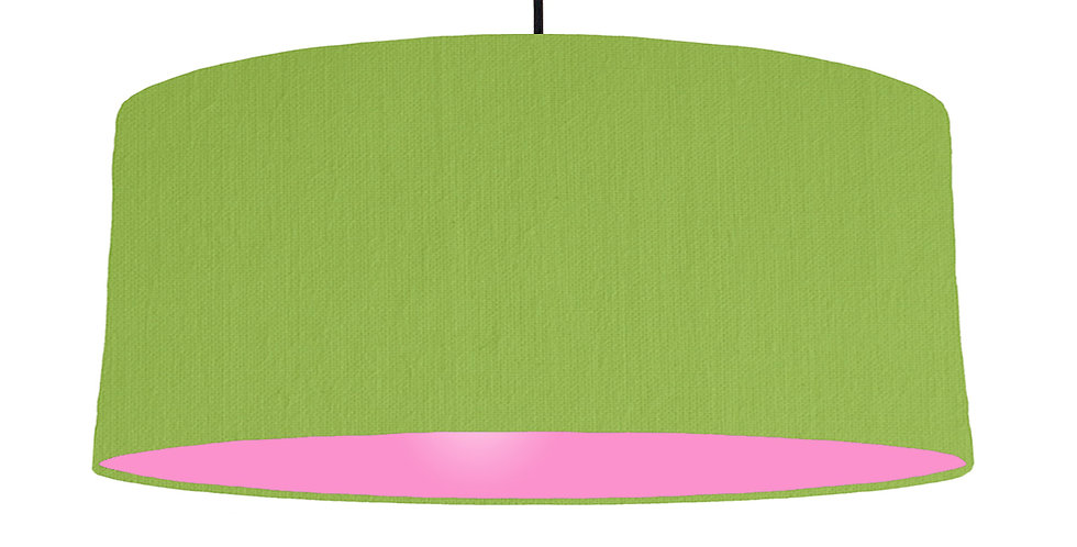 Pistachio & Pink Lampshade - 70cm Wide