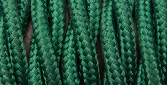 Forest Green - Industville Twisted Fabric Cable