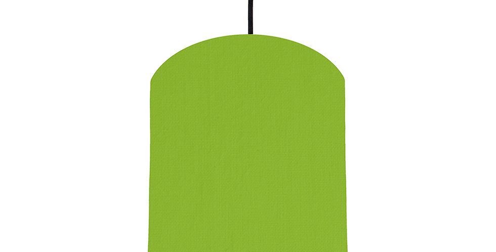 Pistachio & Poppy Red Lampshade - 20cm Wide