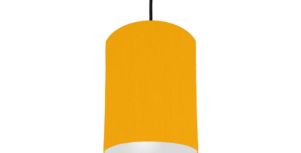 Sunshine & Light Grey Lampshade - 15cm Wide