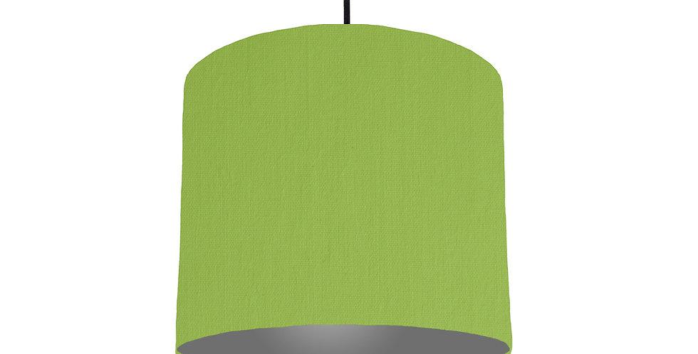 Pistachio & Dark Grey Lampshade - 25cm Wide