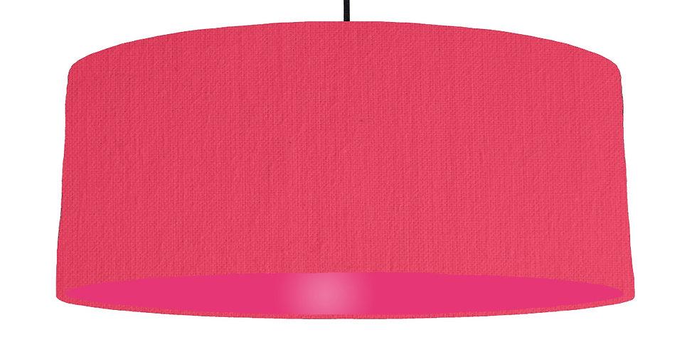 Cerise & Magenta Lampshade - 70cm Wide