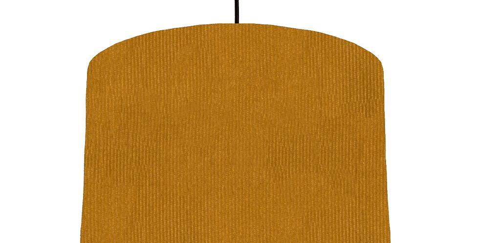 Mustard Corduroy Lampshade