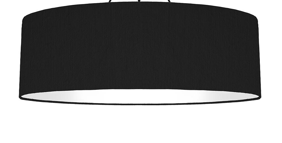 Black & White Lampshade - 100cm Wide