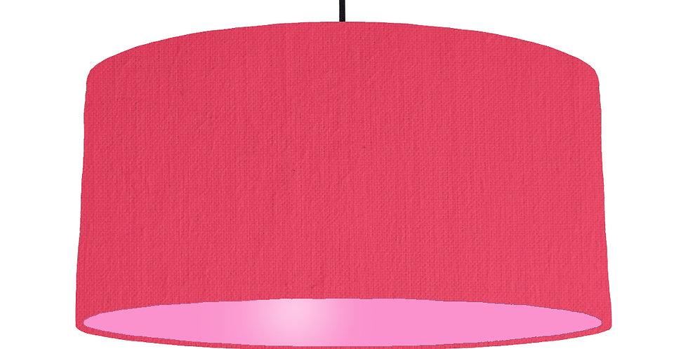 Cerise & Pink Lampshade - 60cm Wide