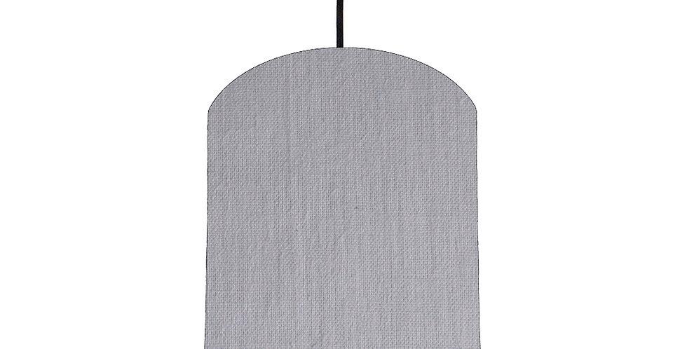Light Grey & Bright Blue Lampshade - 20cm Wide