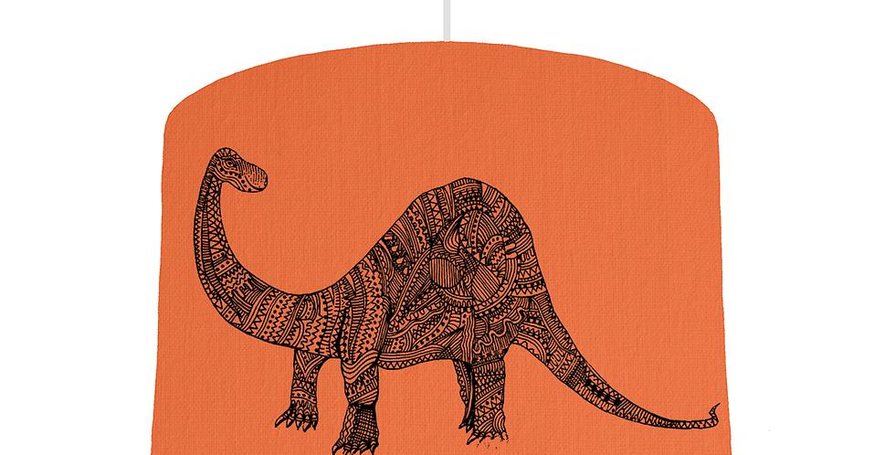 Dinosaur Shade - Orange Fabric