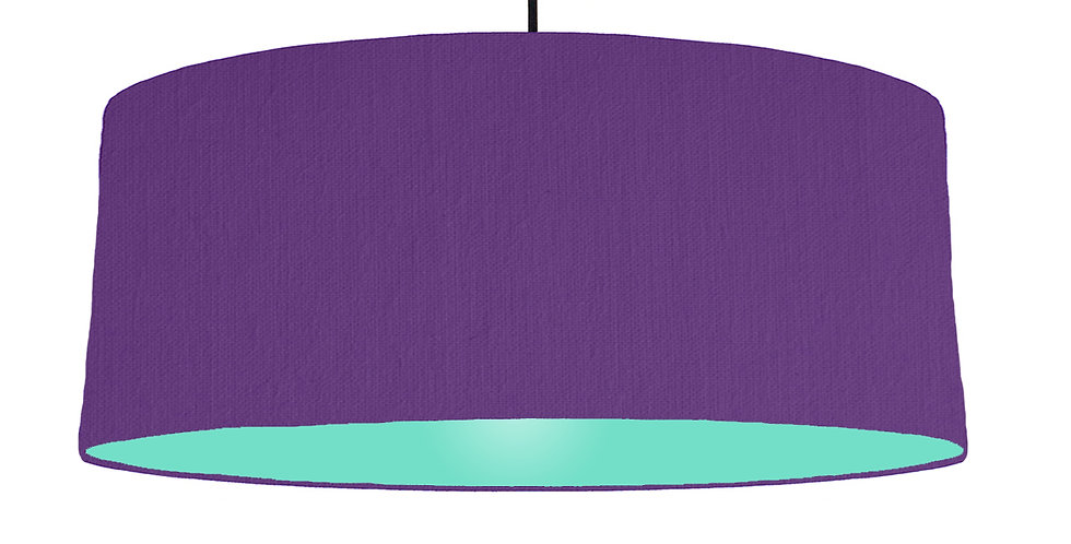 Violet & Mint Lampshade - 70cm Wide