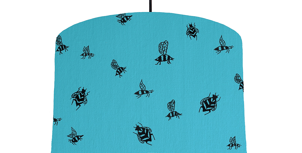 Bumble Bee - Turquoise Fabric