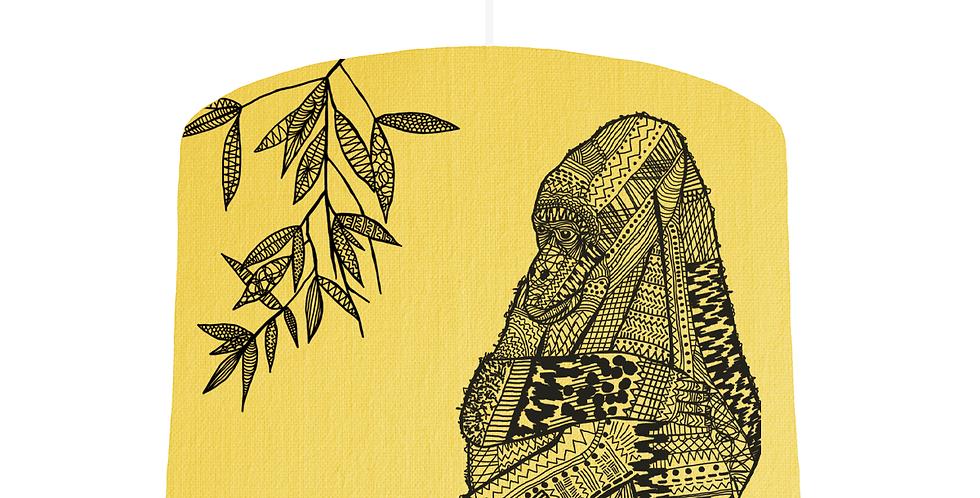 Gorilla Shade - Lemon Fabric