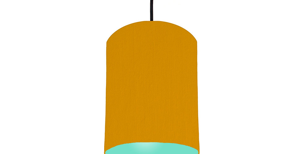 Mustard & Mint Lampshade - 15cm Wide