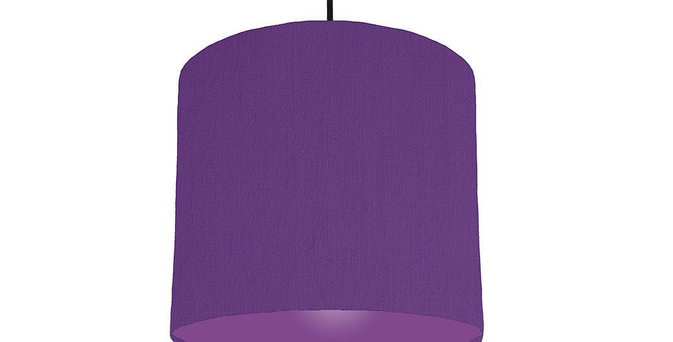 Violet & Purple Lampshade - 25cm Wide
