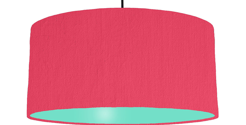 Cerise & Mint Lampshade - 60cm Wide