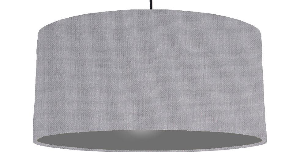Light Grey & Dark Grey Lampshade - 60cm Wide