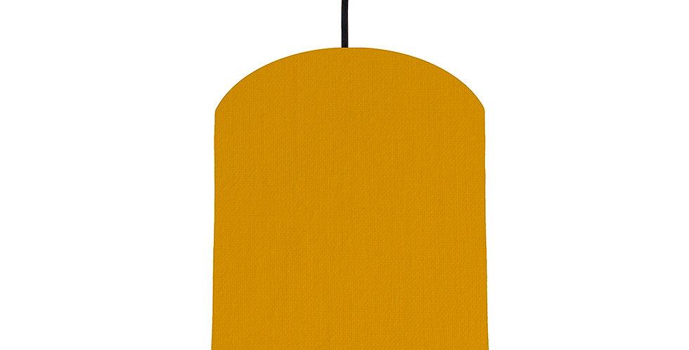 Mustard & Magenta Lampshade - 20cm Wide